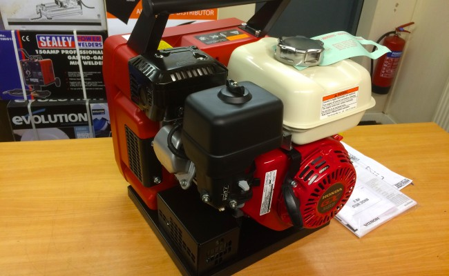 1. Mosa Magic Weld MK II Petrol Welder Generator