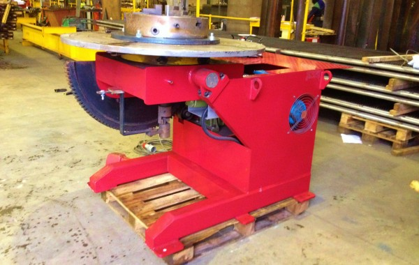 Used 3 Tonne Welding Positioner with Chuck