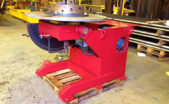 3 Tonne Welding Positioner with Chuck 1