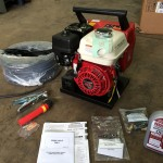 4. Mosa Magic Weld 150 Petrol Welder Generator with 110V Aux, Brand New