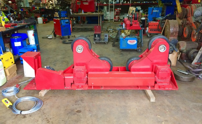 5. BODE 10 Tonne SAR Self Aligning Welding Rotators for Hire