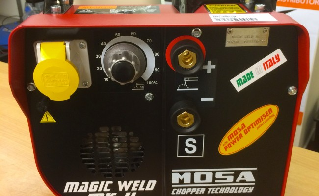 7. Mosa Magic Weld MK II Petrol Welder Generator