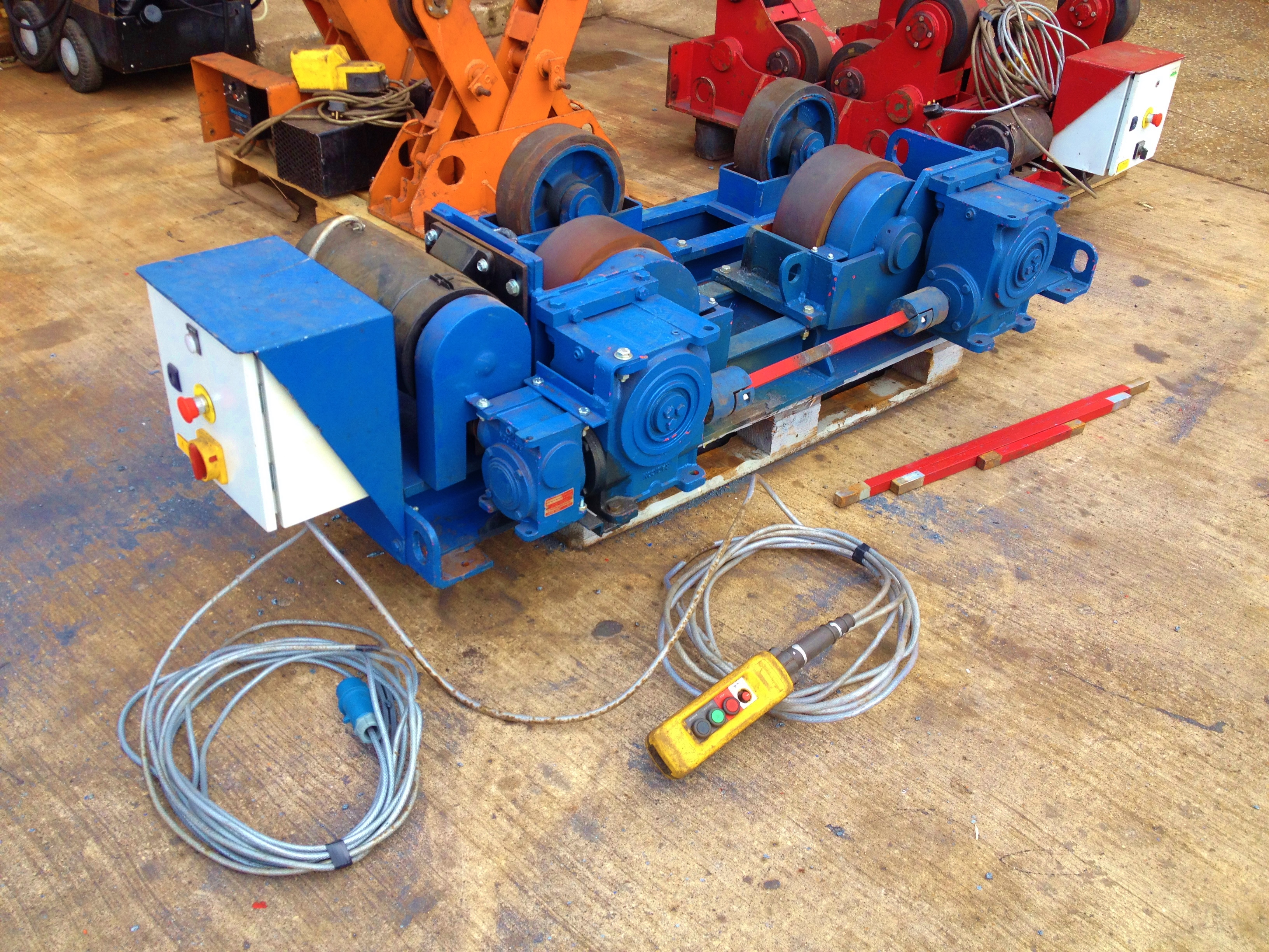 8 Tonne Conventional Welding Rotators 1
