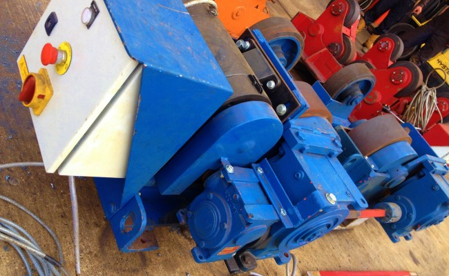 8 Tonne Conventional Welding Rotators 10