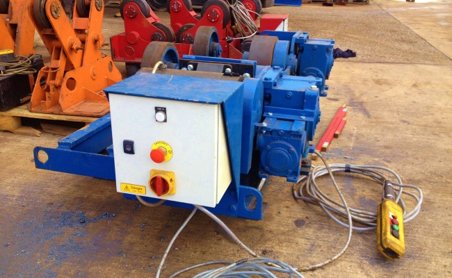 8 Tonne Conventional Welding Rotators 2