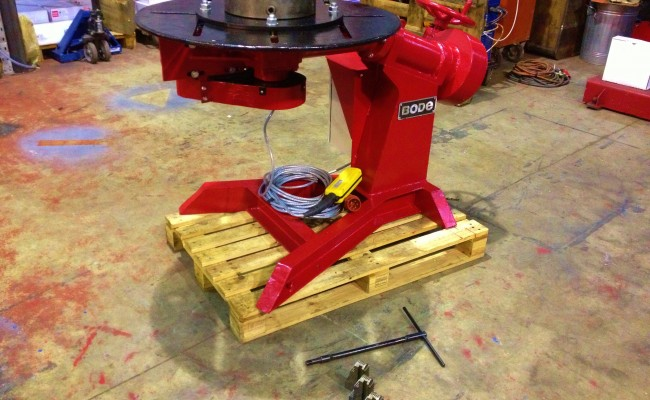 BODE 1 Tonne Bode O Matic Special Welding Positioner 2