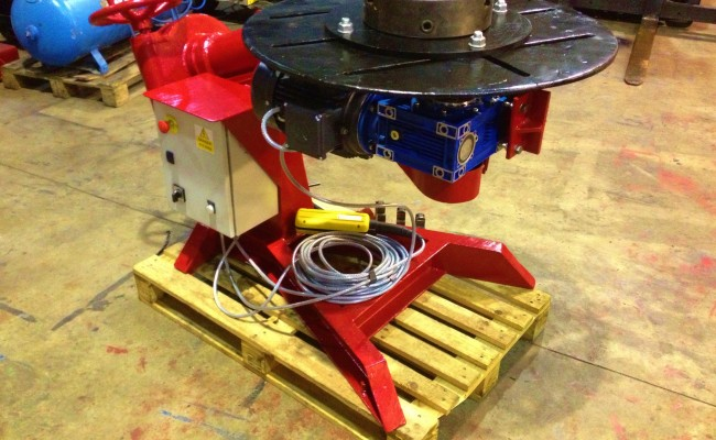 BODE 1 Tonne Bode O Matic Special Welding Positioner 4