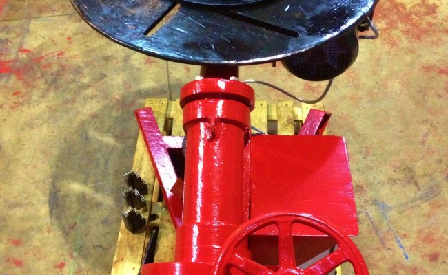 BODE 1 Tonne Bode O Matic Special Welding Positioner 8