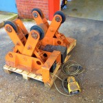 BODE 2 Tonne Scissor Pipe Rotators 1