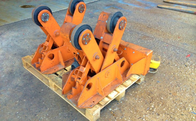 BODE 2 Tonne Scissor Pipe Rotators 3