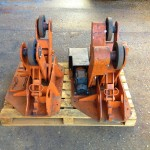 BODE 2 Tonne Scissor Pipe Rotators 4