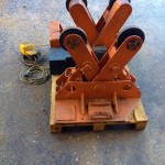 BODE 2 Tonne Scissor Pipe Rotators 6