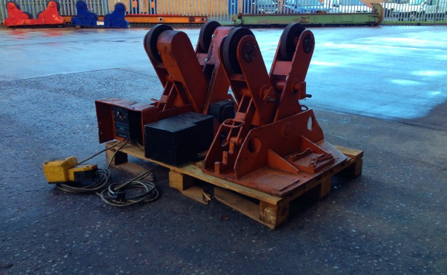 BODE 2 Tonne Scissor Pipe Rotators 7