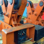 BODE 2 Tonne Scissor Pipe Rotators 8