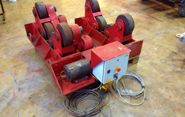 BODE SAR 100 5 Tonne Self Aligning Welding Rotators