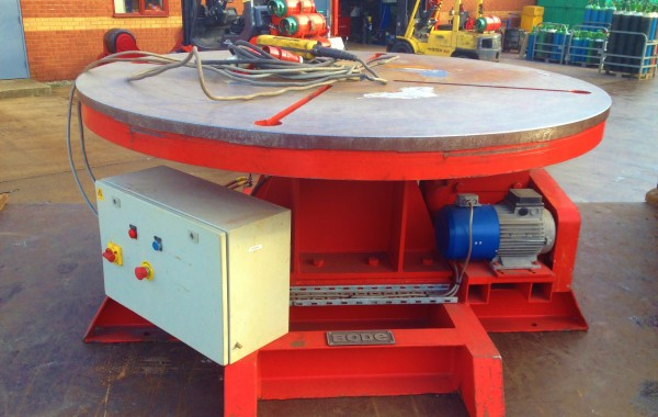 BODE 10 Tonne Welding Turntable Positioner