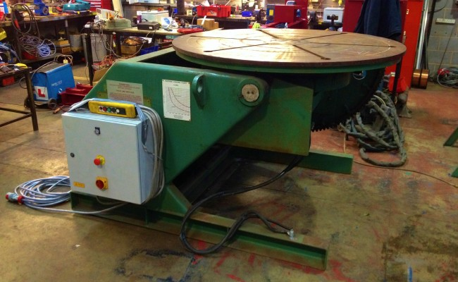 BODE VP5 5 Tonne Welding Positioner 1
