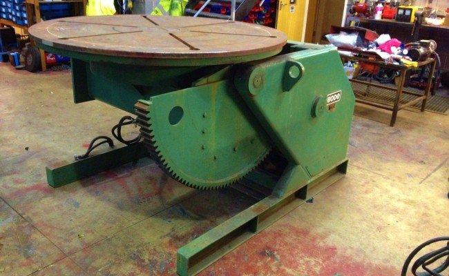 BODE VP5 5 Tonne Welding Positioner 7