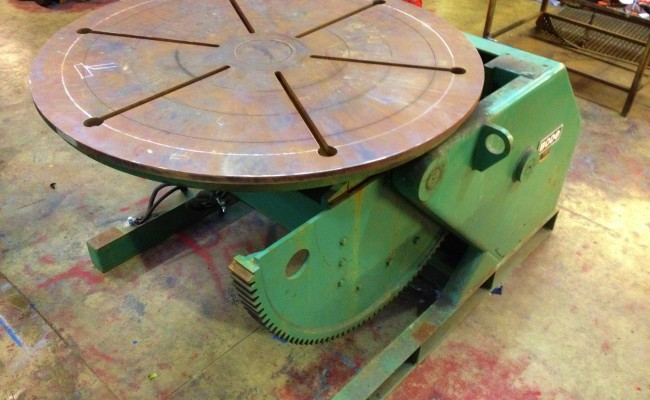 BODE VP5 5 Tonne Welding Positioner 8