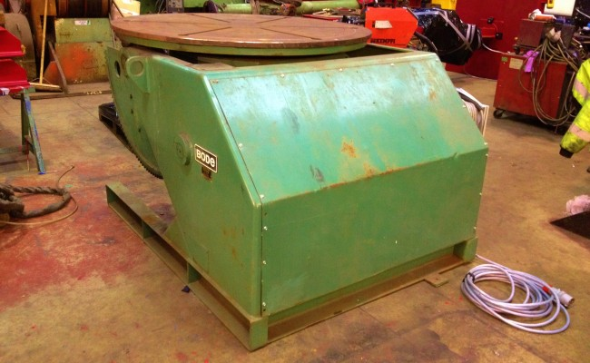 BODE VP5 5 Tonne Welding Positioner 9
