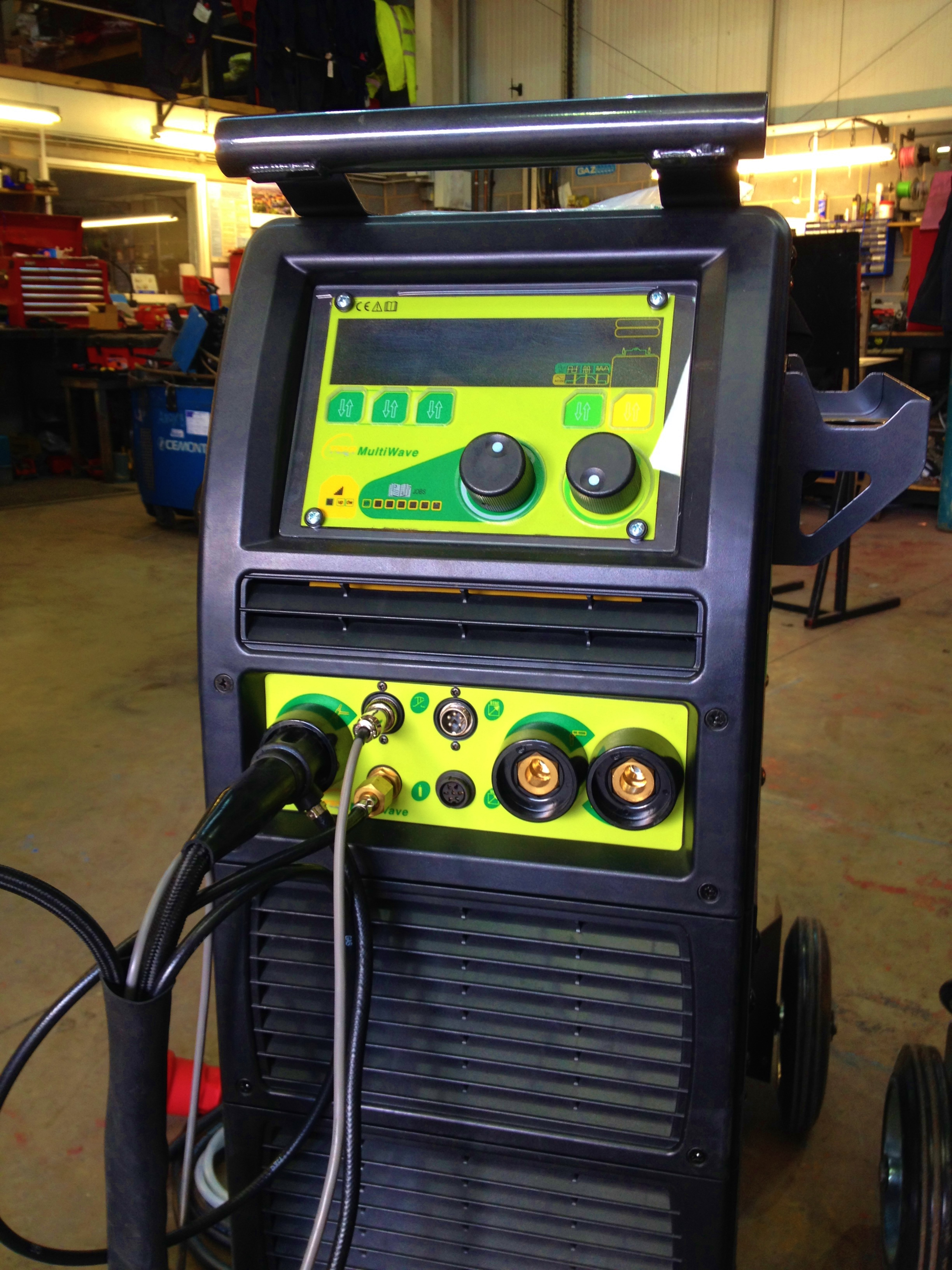 Brand New TER T&R Multi Wave 320 AC/DC Water Cooled TIG
