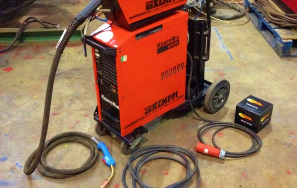 Kemppi KempoMIG 4000W Synergic Water Cooled MIG Welding Machine