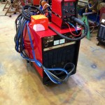 Lincoln Electric CV500-I Water Cooled MIG with LF 33 Wire Feder 1