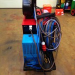 Lincoln Electric CV500-I Water Cooled MIG with LF 33 Wire Feder 11