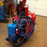 Lincoln Electric CV500-I Water Cooled MIG with LF 33 Wire Feder 20