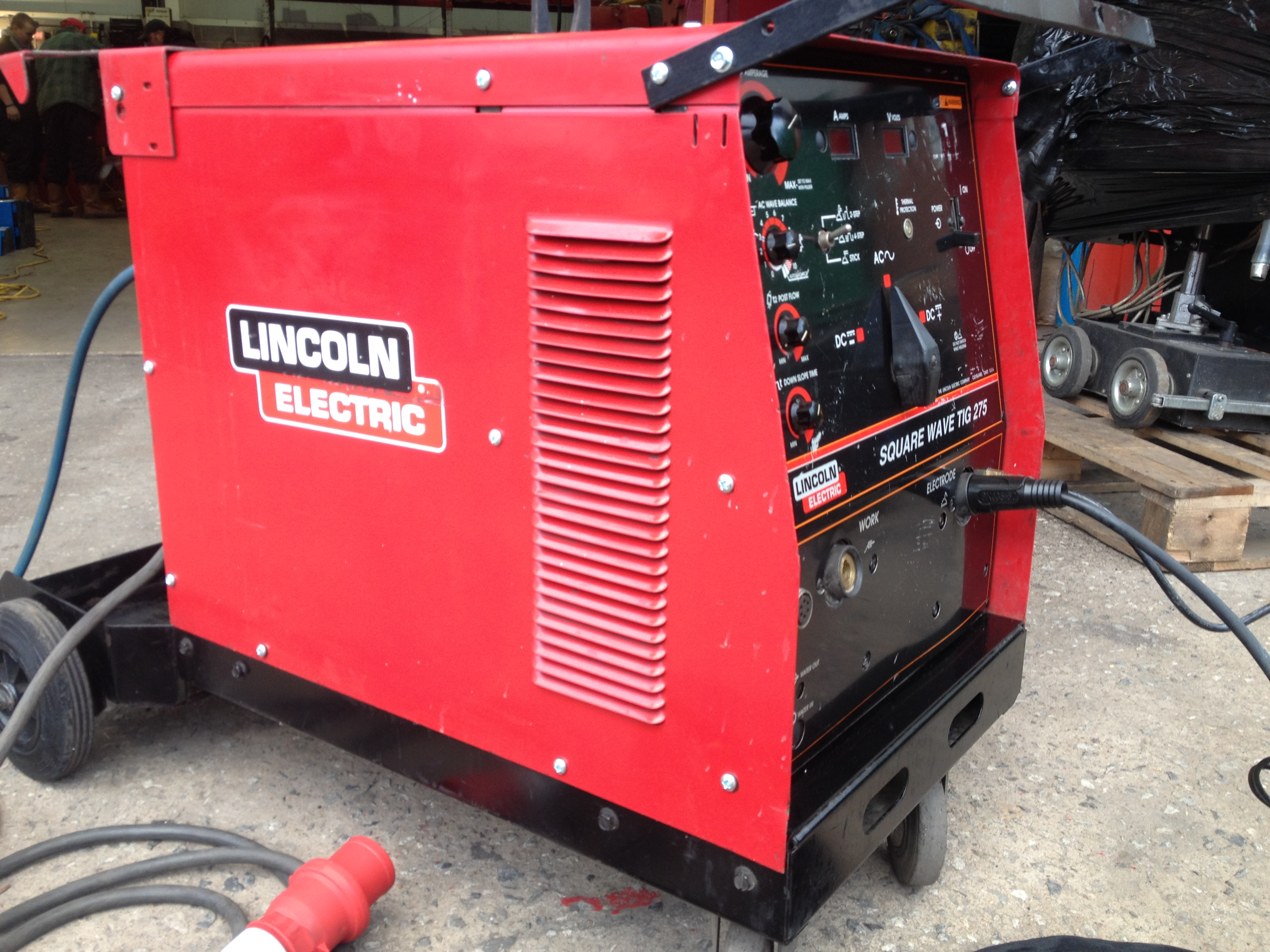 Lincoln Electric Square Wave Tig 275 Ac Dc Welding Machine Electrical Diagram Sqaure Acdc 2