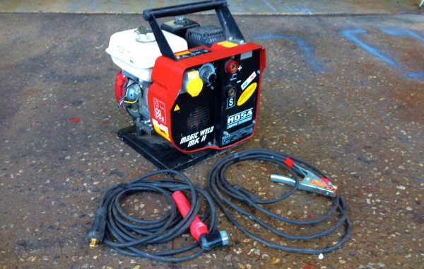 Mosa Magic Weld 150 MK II Petrol Welding Generator