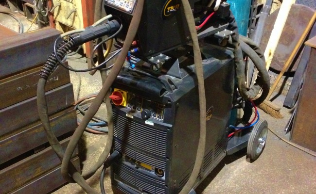 TER 500B Water Cooled MIG MMA Welding Machine 1