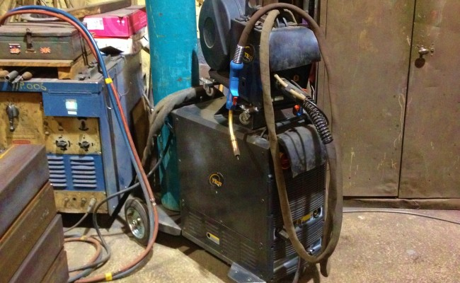 TER 500B Water Cooled MIG MMA Welding Machine 8