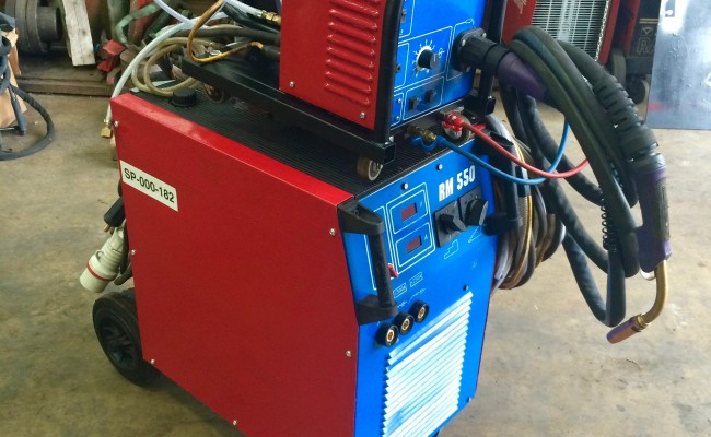 10. Newarc RM550 Water Cooled MIG Welding Machine