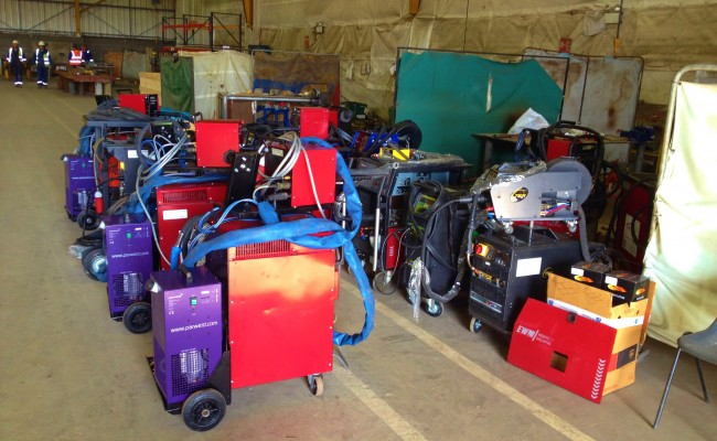 12 Water Cooled MIG Welders sand 5 Water Cooled TIG Welders on Hire 1