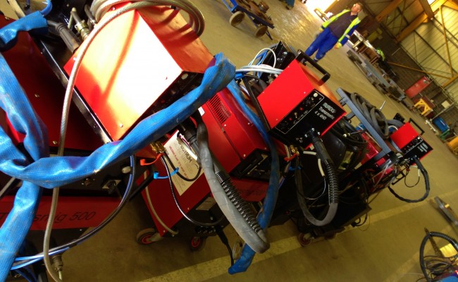 12 Water Cooled MIG Welders sand 5 Water Cooled TIG Welders on Hire 10