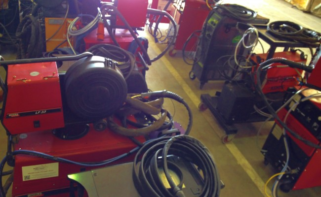 12 Water Cooled MIG Welders sand 5 Water Cooled TIG Welders on Hire 11