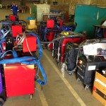 12 Water Cooled MIG Welders sand 5 Water Cooled TIG Welders on Hire 12