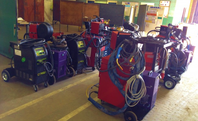 12 Water Cooled MIG Welders sand 5 Water Cooled TIG Welders on Hire 2