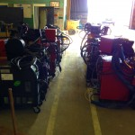 12 Water Cooled MIG Welders sand 5 Water Cooled TIG Welders on Hire 3