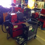12 Water Cooled MIG Welders sand 5 Water Cooled TIG Welders on Hire 4