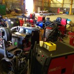 12 Water Cooled MIG Welders sand 5 Water Cooled TIG Welders on Hire 5