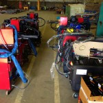 12 Water Cooled MIG Welders sand 5 Water Cooled TIG Welders on Hire 6