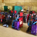 12 Water Cooled MIG Welders sand 5 Water Cooled TIG Welders on Hire 7