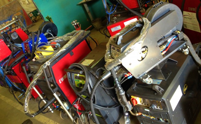 12 Water Cooled MIG Welders sand 5 Water Cooled TIG Welders on Hire 9