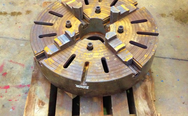 32 inch Large 4 jaw Welding Chuck 1