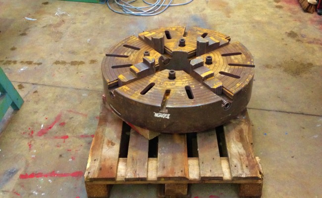 32 inch Large 4 jaw Welding Chuck 2