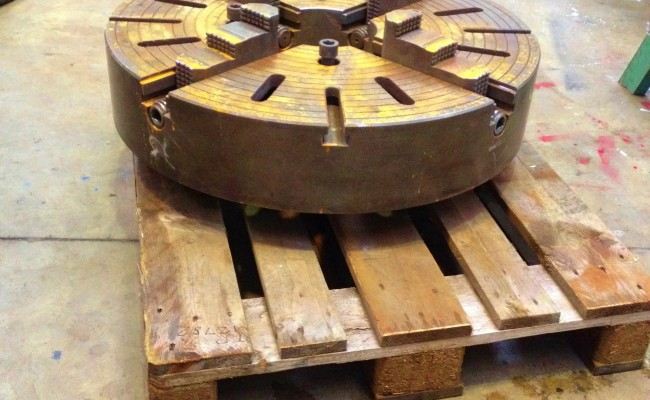32 inch Large 4 jaw Welding Chuck 3