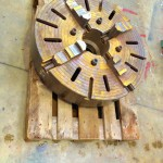 32 inch Large 4 jaw Welding Chuck 4