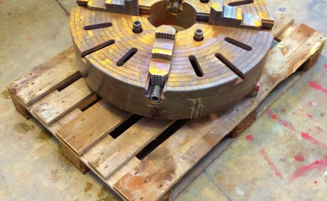 32 inch Large 4 jaw Welding Chuck 5